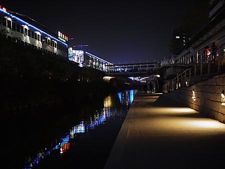 チョンゲチョン夜景