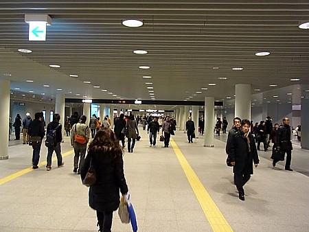 札幌 地下歩行空間