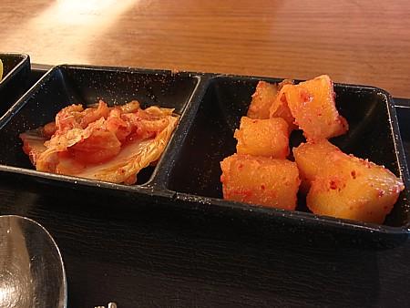 キムチ食べ放題