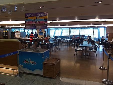 仁川空港 朝食