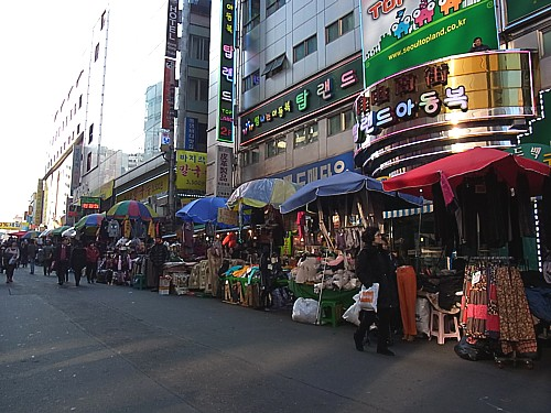 南大門市場散策