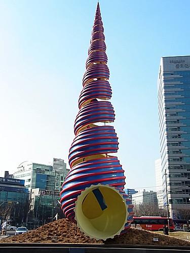 清渓川広場