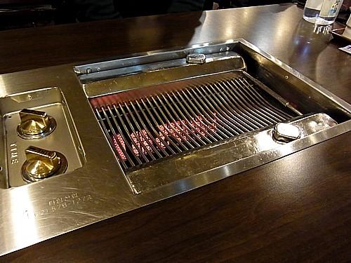 韓国のホルモン焼き