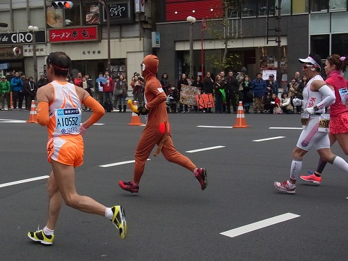 東京マラソン 2012