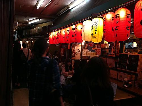 恵比寿駅近く