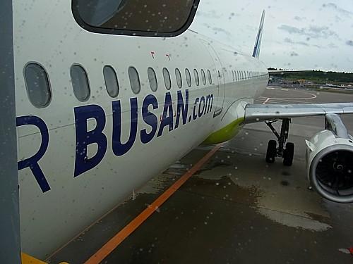 エア釜山機体