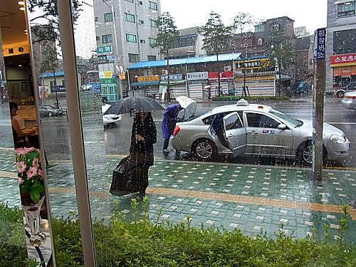 韓国の梅雨