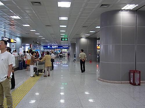 金海空港から釜山