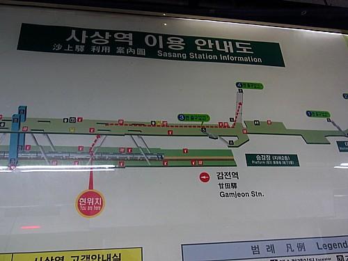 韓国地下鉄事情