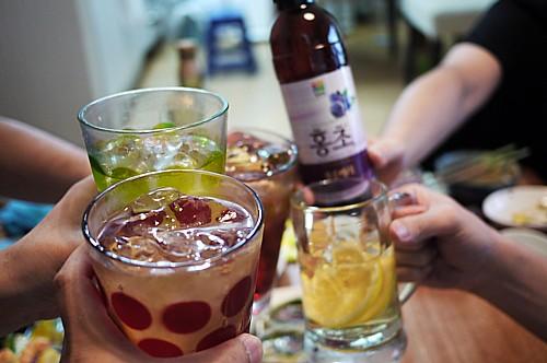 韓国ホームパーティ