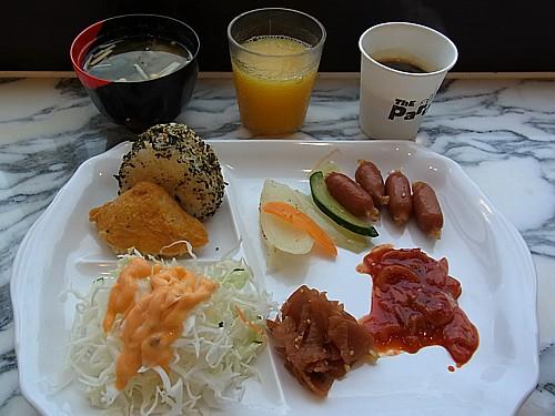 東横イン朝食