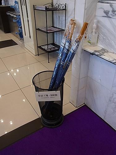 使い捨て傘
