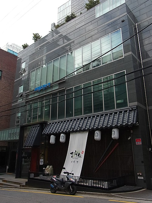 韓国で日本料理