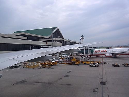 金浦空港到着