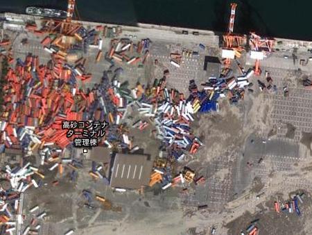 googleマップ衛星写真