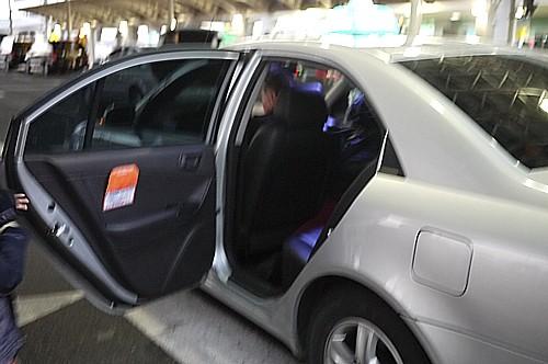タクシー移動