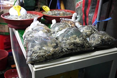 チャガルチ市場前