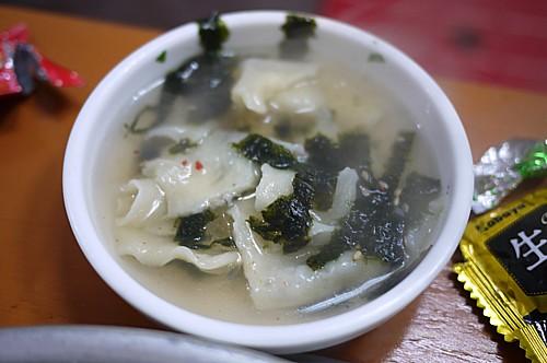韓国海苔スープ