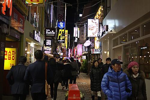 釜山で食べた