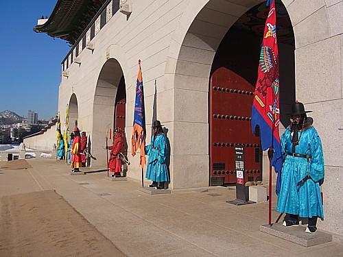 景福宮の正門