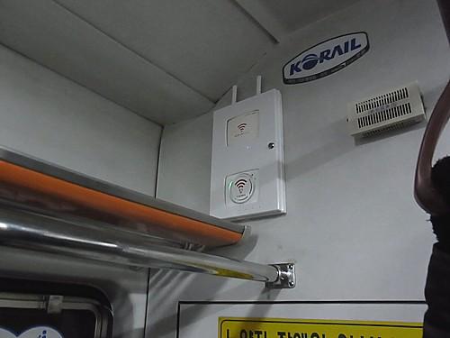韓国Wi-Fi車両