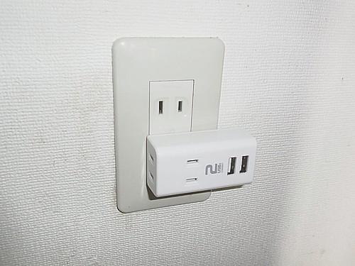 USB2ポート出力付き