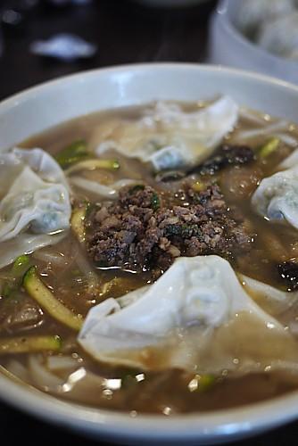 韓国式ワンタンメン