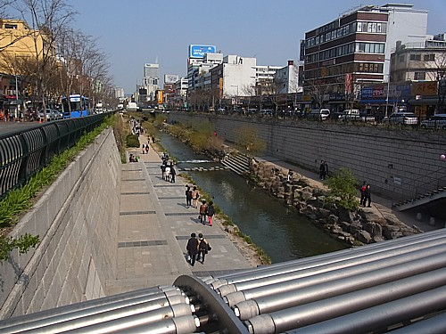 清渓川(チョンゲチョン)