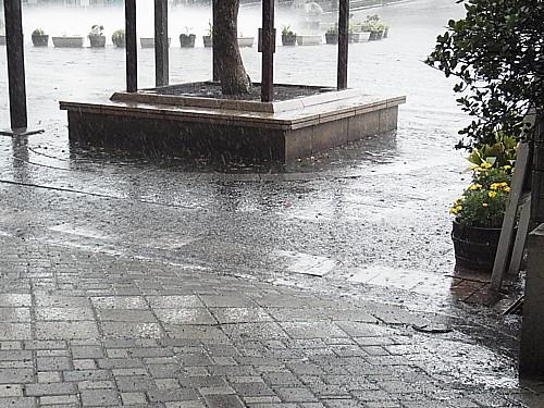 雨レーダー