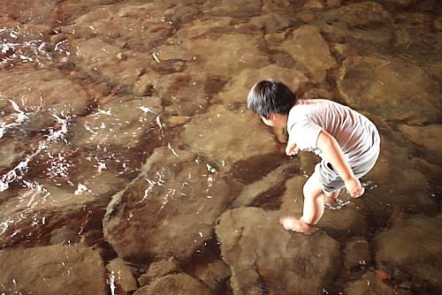 安全な水遊び