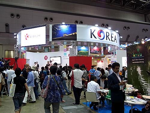 韓国ブース