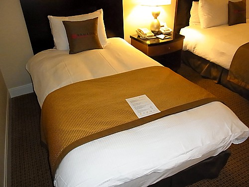 質の良いベッド
