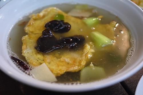 四川風玉子スープ