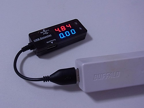 USB電圧計