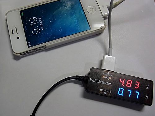 USB電圧