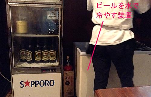 ビール冷却装置