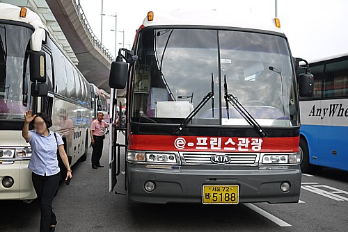 仁川空港から