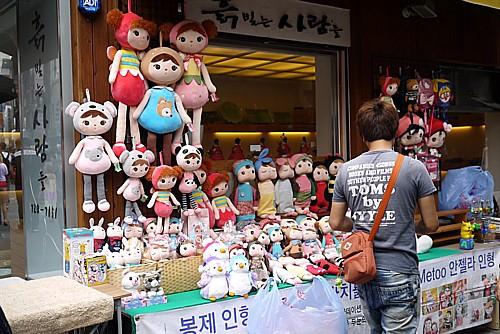 韓国の原宿