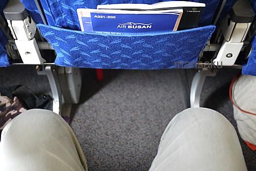 座席の広さ