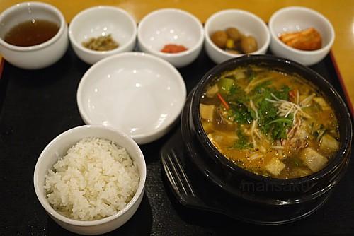 海鮮味噌鍋定食