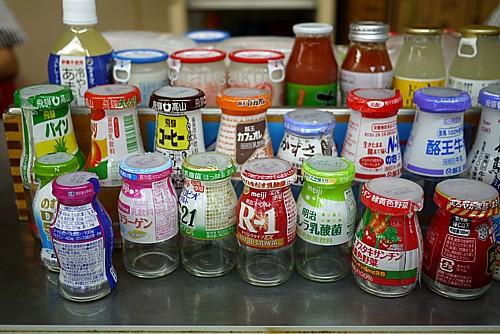 空き瓶コレクション