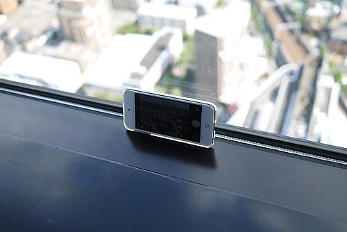 iPod touch タイムラプス