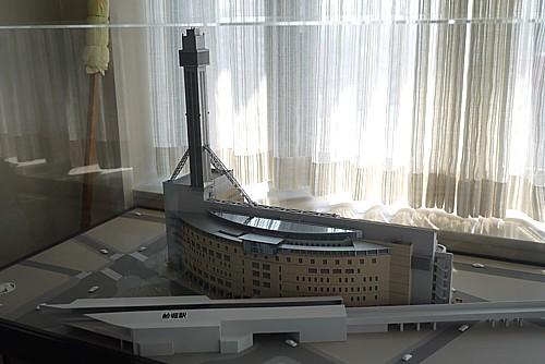 タワーホール船堀模型
