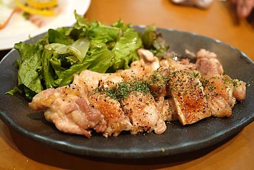 鶏肉の炙り