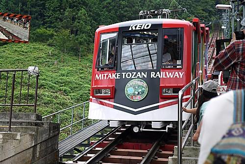 御岳山登山鉄道