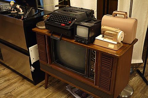古いテレビ