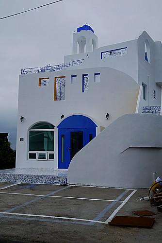 ギリシャの白い家