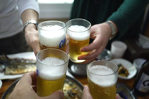 韓国ビールcass