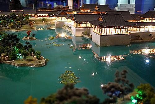月池の模型