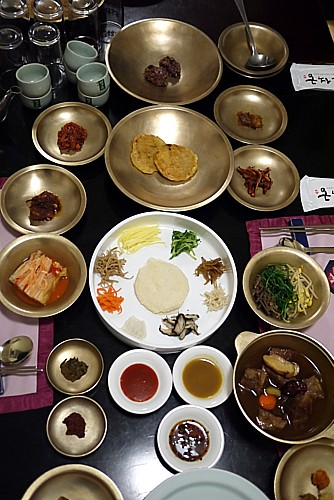 高級韓定食